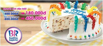 Bánh Kem Lạnh Baskin – Robbins: Cho ngày đặc biệt thêm vui!!! 1