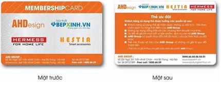 Nội thất AHDesign & Bếp Xinh với chương trình thẻ Membership Card 3