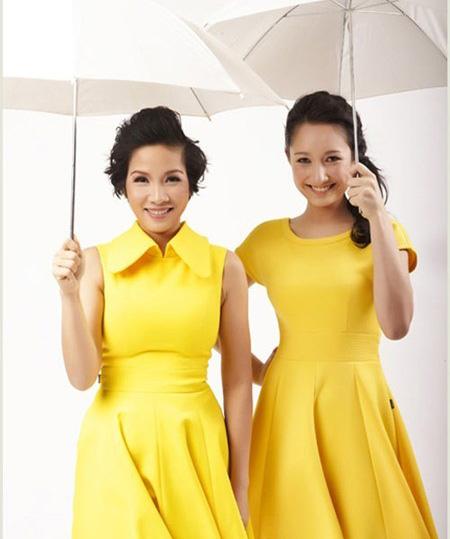 Vẻ đẹp lạ của các em bé con lai nhà sao Việt 13