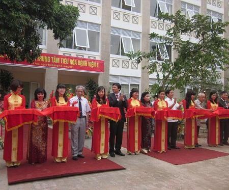 Trung tâm tiêu hoá hiện đại đầu tiên tại Việt Nam chính thức hoạt động 3