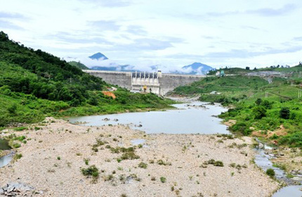 Thủy điện Sông Tranh 2 lại rung chuyển vì động đất 1
