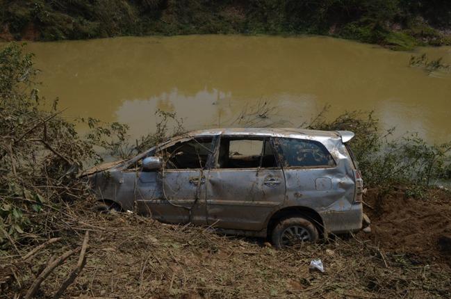 Vụ xe 7 chỗ bị lũ cuốn ở Nghĩa Đàn - Nghệ An: Tìm thấy nạn nhân cuối cùng  1