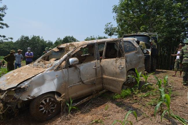 Vụ xe 7 chỗ bị lũ cuốn ở Nghĩa Đàn - Nghệ An: Tìm thấy nạn nhân cuối cùng  2
