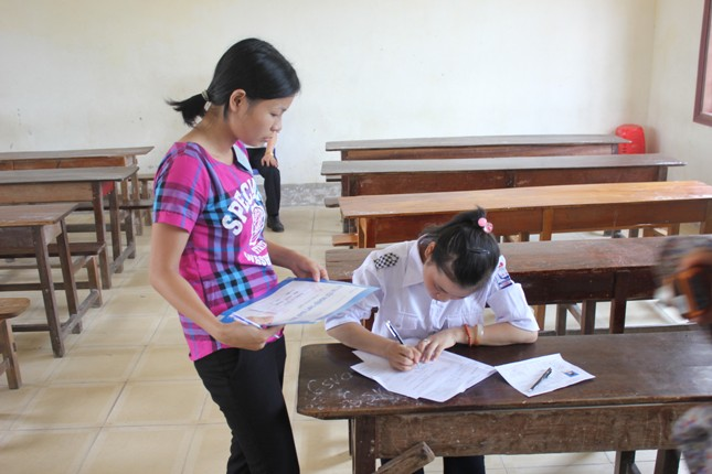 Nghệ An: Thí sinh duy nhất thi môn Sử  đạt  8 điểm 1