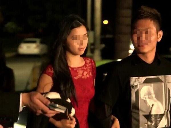 Những đôi tình nhân gốc Hoa xuất hiện ngày càng nhiều ở khu vực Nam California.