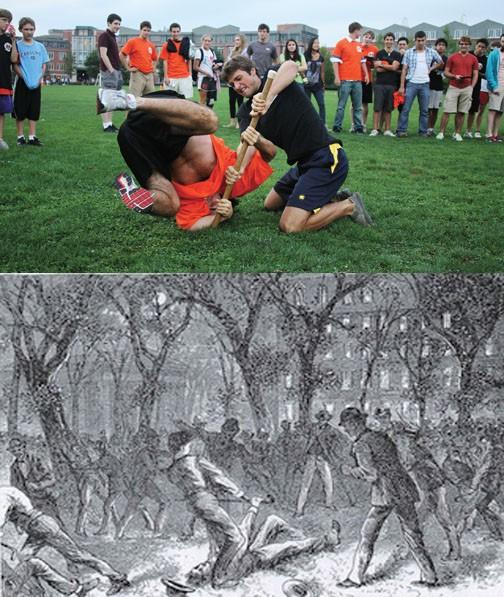 Cane Spree ngày nay trở thành ngày hội thể thao truyền thống ở ĐH Princeton.