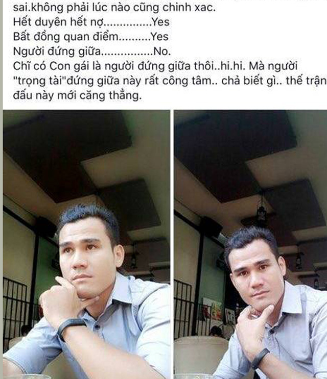 Phan Thanh Bình viết trên trang cá nhân