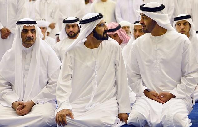 Những hình ảnh đầu tiên về đám tang hoàng tử Dubai đẹp trai qua đời tuổi 33-1