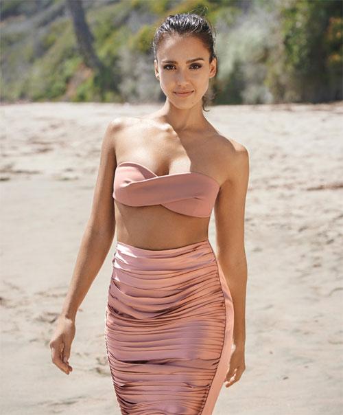 Nude beach woman