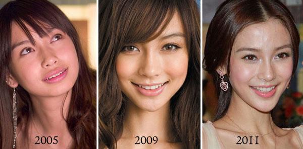 Trước những thay đổi của khuôn mặt, Angelababy liên tục giải thích, cô đẹp tự nhiên, mọi thay đổi cũng là do trang điểm, kiểu tóc.