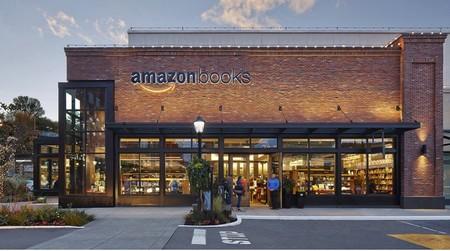 """Bên ngoài cửa hàng sách """"không giá"""" của Amazon"""