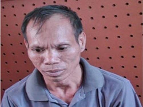 Triệu Văn Thắng tại cơ quan công an