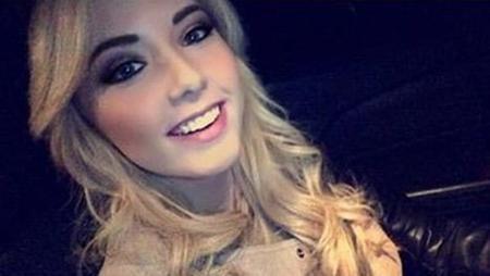 Cô thiếu nữ 19 tuổi với mái tóc vàng tuyệt đẹp, nụ cười tỏa nắng và cặp mắt như biết nói Hailie chính là cô con gái duy nhất của Eminem với tình cũ Kimberly Anne Scott.