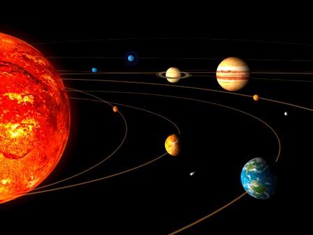 """Con người chính là những hành khách trên """"con tàu"""" Trái đất bay xung quanh Mặt trời với tốc độ 107.182 km/h."""