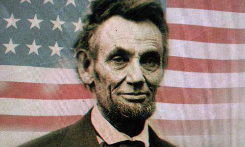 Tổng thống Mỹ Abraham Lincoln.