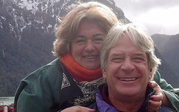 Bà Regina và chồng Francisco.