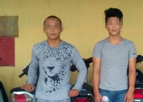 Hai thiếu niên thừa nhận trộm trót lọt 26 vụ. Ảnh: C.A