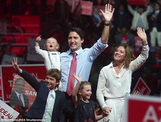Gia đình hạnh phúc của Tân thủ tướng Canada