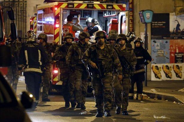 Lực lượng an ninh Pháp được tăng cường sau vụ tấn công. Ảnh: Getty
