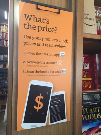 Bảng hướng dẫn cách thức để tra cứu giá sản phẩm bên trong cửa hàng