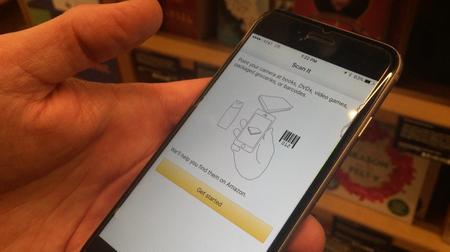 Người dùng phải cài đặt ứng dụng của Amazon...
