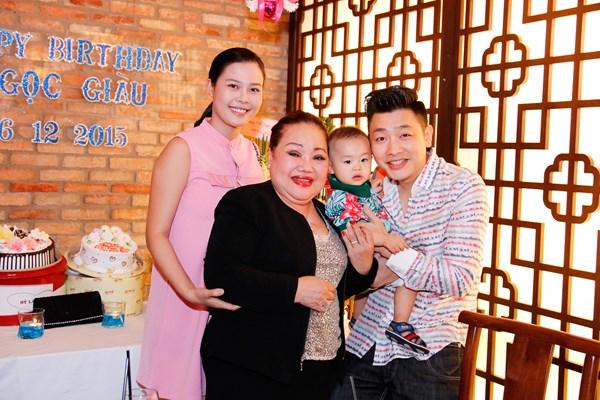 Gia đình MC Tuấn Anh