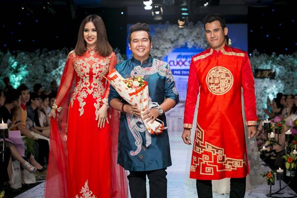 Thảo Trang, nhà thiết kế Minh Châu, Phan Thanh Bình.