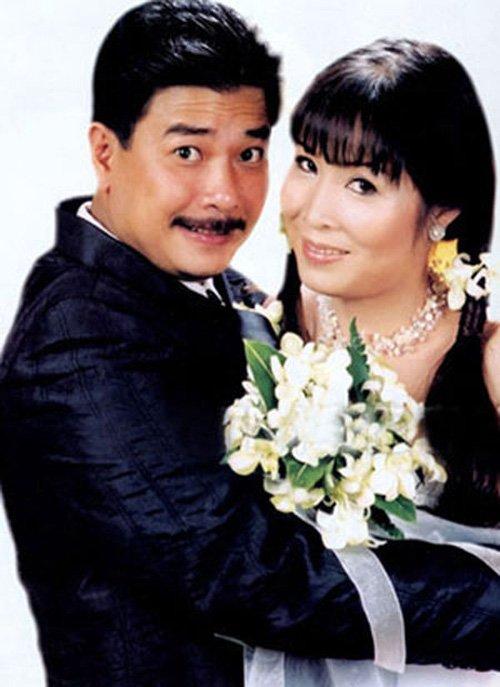 Ảnh cưới của NSND Hồng Vân và diễn viên Lê Tuấn Anh