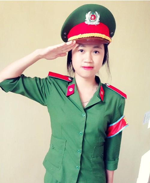 Trần Thị Ngân - nữ thủ khoa Học viện Cảnh sát Nhân dân là cựu học sinh trường THPT Chuyên Lê Hồng Phong (Nam Định).