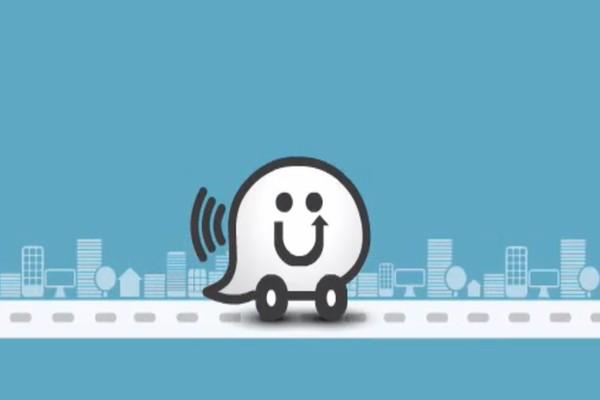 Ứng dụng chỉ đường GPS Waze.