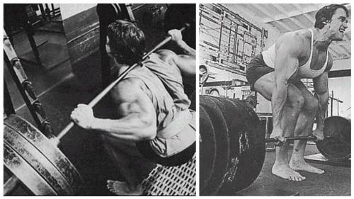 Huyền thoạiArnold Schwarzenegger để chân trần khi tập luyện. Ảnh:birthdayshoes.com.