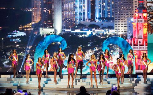 Năm 2014, Miss Universe vẫn chọn top 15
