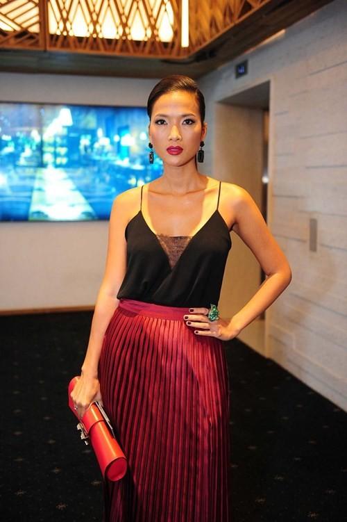 Bằng Lăng ở sự kiện Tuần lễ thời trang quốc tế Việt Nam. Ảnh: NVCC