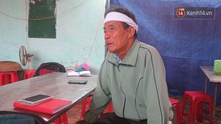 Ông Nguyễn Văn Loan (anh trai ông H.) một trong hai người đầu tiên phát hiện sự việc kể lại những gì mình chứng kiến trong buổi chiều kinh hoàng.