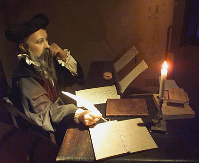 Nostradamus tiên đoán đúng cái chết của vua Henry II.