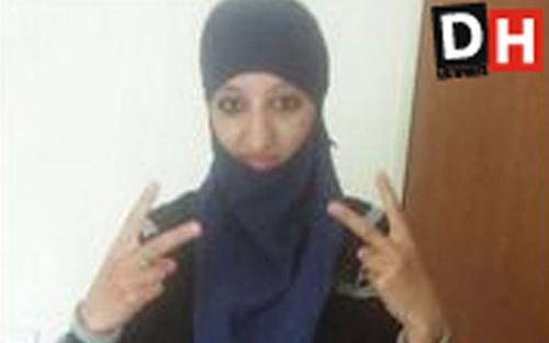 Hasna Aitboulahcen được cho là mới bị cực đoan hóa gần đây. Ảnh: Mirror