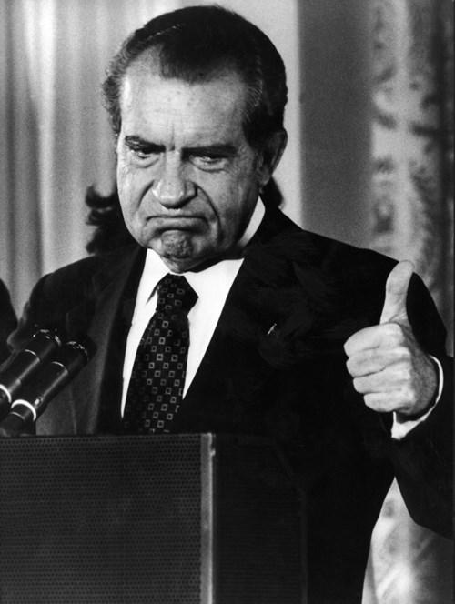 Tổng thống Nixon.