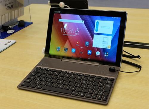 ZenPad 10 có phụ kiện bàn phím rời.