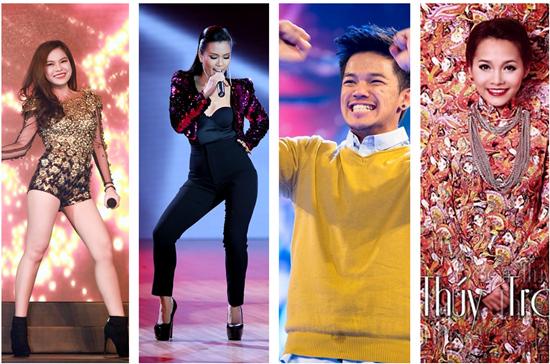 Giang Hồng Ngọc và Phương Vy còn giành cú đúp quán quân bằng chiến thắng xứng đáng ở sân chơi cho ca sĩ chuyên nghiệp.