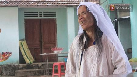Bà Nguyễn Thị Mạnh đau đớn đến tột cùng khi một lúc mất đi em gái và chồng.