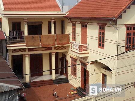 Căn nhà gia đình ông Nguyễn Lương Chuân sinh sống.