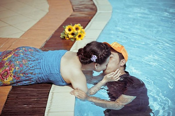 Chàng nhiếp ảnh Vũ Ngọc Sơn - chủ nhân status gây bão và nguồn cảm hứng của cuộc đời mình.