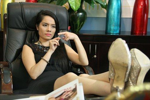 Kiều Thanh và vai sát thủ Linh Lam trong phim Câu hỏi số 5