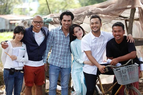 Ngọc Trinh cảm thấy đạo diễn Vũ Ngọc Đãng quý và thương mình thật nên mới nhận lời làm phim.