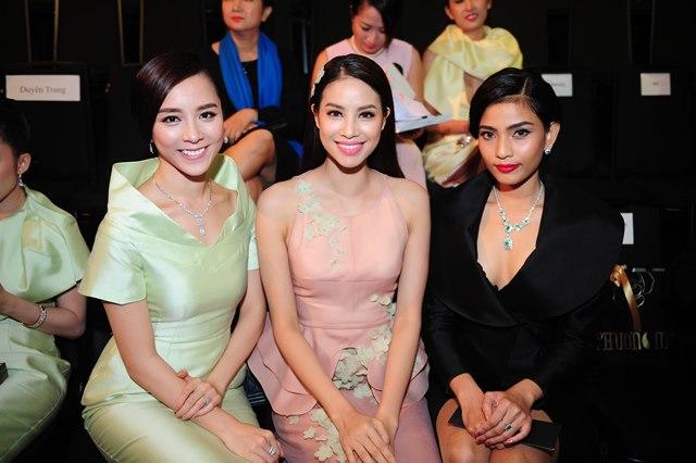 Hoa hậu hội ngộ Á hậu Dương Trương Thiên Lý và người đẹp Trương Thị May