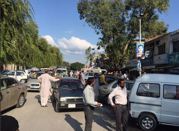 Trận động đất cũng được cảm nhận ở thành phố Lahore, Faisalabad của Pakistan và khu vực miền núi Chitral.