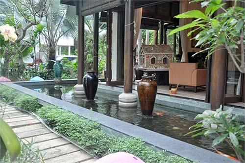 Một góc biệt thự trăm tỷ của vợ chồng Hà Kiều Anh