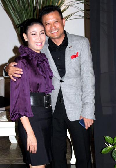 Hà Kiều Anh và chồng hiện tại