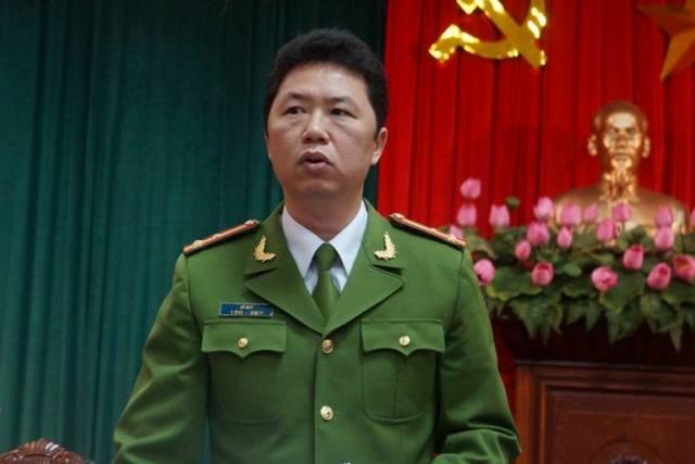 Thượng tá Lê Huy nói về việc xuất hiện hiện tượng mua bán thận trên địa bàn TP. Hà Nội - Ảnh C.Tuân