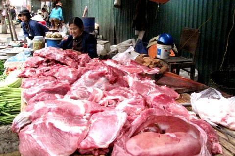 Nhiều người tiêu dùng nói không với thịt lợn